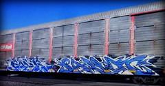 (timetomakethepasta) Tags: paser mfk sabot ld freight train graffiti art cp rail autorack canadian pacific