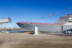 20181215_Y5A8629_m (LCS Team Freedom) Tags: 2018 christening lcs lcs19 launch littoralcombatship marinette shipyard stlouis usnavy usn wi wisconsin