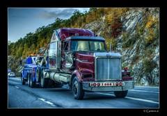 Woeful Western-Star (* Gemini-6 *) Tags: truck semi hdr framed towtruck wrecker westernstar autumn highway motion chrome