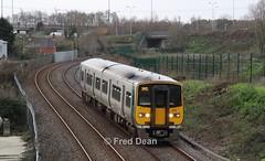 Irish Rail 2608/07 at Dunkettle. (Fred Dean Jnr) Tags: 2608 2607 dunkettle cork january2019 irishrail iarnrodeireann tokyu railcar dieselmultipleunit dmu