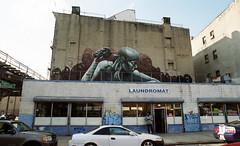 Jefferson Avenue and Broadway (neilsonabeel) Tags: nikonfe2 nikon nikkor film analogue streetart brooklyn newyorkcity