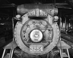 Locomotive (JCTopping) Tags: 6d 19mm engine train locomotive canon blackandwhite railroad steam scranton pennsylvania unitedstates us