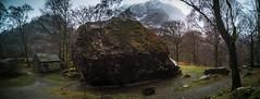 Bowder Stone (DJNanartist) Tags: nikond750 nikon28300mm lakedistrict anartist snow frozen bowderstone borrowdale skiddaw castlerigg