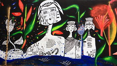 281A6354 Rennes Impermanence Galerie Mur6 @Maya Wnu @Anne -Laure Chevallier @Christine Ammour @Bibiche Zède @Maïté Rouault (blackbike35) Tags: rennes bretagne france impermanence galerie mur wall street streetart paint painting art work writing artistes women