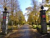 The Pontcanna entrance to Bute Park, Cardiff