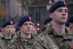 Liverpool Remembers (Terry Kearney) Tags: army armedforces armisticeday navy airforce police cadets women men soldiers seamen airmen people portrait autumn canoneos1dmarkiv daylight day explore europe england flowers kearney poppy liverpool liverpoolcitycentre merseyside merseysidepolice oneterry outdoor terrykearney 2018 rememberance rememberanceday hat building