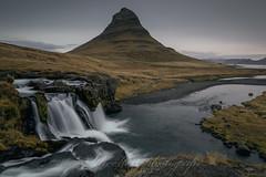 Kirkjufellfoss - Iceland (Nicole Staniewski (wandelwelten-photografie)) Tags: iceland kirkjufell kirkjufellfoss island islandic waterfall
