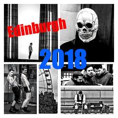 Edinburgh 2018 (FotoFling Scotland) Tags: collage edinburgh 2018 albumcover scotland