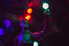 I AM GROOT (3rd-Rate Photography) Tags: groot guardiansofthegalaxy marvel marvellegends toy toyphotography actionfigure christmas christmaslights superhero comicbook jacksonville florida 3rdratephotography earlware 365 50mm 5dmarkiii