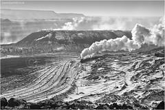 Sterile Environment (channel packet) Tags: china steam train railway railroad industry coal mine open cast pit js locomotive monochrome davidhill