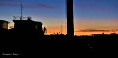 Terrazza su roma (ioriogiovanni10) Tags: colors colori clouds nikon tramonti italia city città capitale fotografia photographer fotografo spettacolo panorama terrazza terrazzo rome red cielo sunset vista tramonto