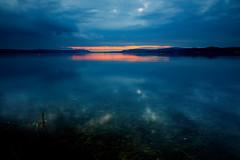 Bodensee (generalstussner) Tags: landscape landschaft bodensee see wasser spiegelung sky himmel wolken reflections canon 5dmarkiv wideangle moody dark