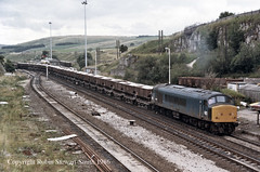 BR Class 45 No 45070 Peak Forest South 29th August 1986 (robinstewart.smith) Tags: br class 45 peak forest limrstone hoppers 1986
