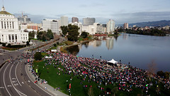 Oakland Women March 2019 (samayoukodomo) Tags: djimavicpro mavicpro drone droneview dronephotography dronepointofview aerialview aerial aerialphotography quadcopter takingthedroneouttogethigh
