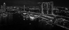 Night View of Marina Bay Sand (ObscuraApe) Tags: night singapore city lights building