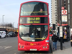 One of very few routes to use old Eclipse WVLs nowadays. | Go-Ahead Volvo B7TL Eclipse on the 89 to Slade Green. (alexpeak24) Tags: sladegreen lewisham 89 volvob7tl goahead london