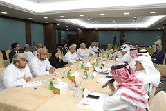 From the meeting (Qatar Chamber) Tags: qatar oman chamber commerce delegation business