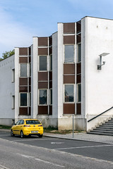 Jiráskovo divadlo (Maciej Dusiciel) Tags: architecture architectural city urban building modern modernism czech republic hronov europe world sony alpha travel theatre