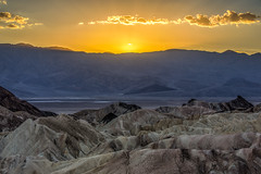 Golden Sunset at Zabriskie (Jeff Sullivan (www.JeffSullivanPhotography.com)) Tags: death valley national park landscape nature travel photography furnace creek california united states usa canon 5d mark iv photo copyright 2018 jeff sullivan october hdr photomatix cokin gnd filter