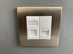 "Network Sockets and Telephone Sockets Terminated and Installed Faceplate In New Barnet, London. • <a style=""font-size:0.8em;"" href=""http://www.flickr.com/photos/161212411@N07/44231848960/"" target=""_blank"">View on Flickr</a>"