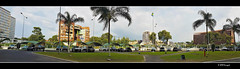 city of libreville (harrypwt) Tags: harrypwt gabon coastal green plants africa afrika centralafrica paintinglike panporamic panorama samsungs7 s7 smartphone cars