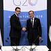 Reunión bilateral - Guido Sandleris y Mark Carney