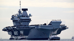 Her Majesty's Ship Queen Elizabeth (Bernie Condon) Tags: carrier aircraftcarrier military warship navy rn royalnavy qec queenelizabethclass queenelizabeth hmsqueenelizabeth hermajestysship hms uk british ship boat biglizzie r08 portsmouth harbour port solent hampshire hants armadabritánica