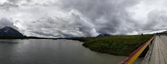 Denali Highway, AK, US (s.silverman12) Tags: bridge water alaska landscape clouds panorama
