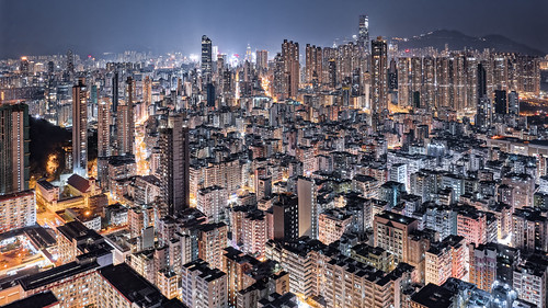 Night of Kowloon, Hong Kong