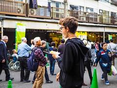 Enjoying Tsukiji (Yorkey&Rin) Tags: 10月 2018 autumn boy em5markii japan lumixg20f17 october olympus pa280071 people rin tokyo tourists tsukiji tsukijioutsidemarket 河童 観光客 秋 少年 築地 築地場外市場 中央区 東京都