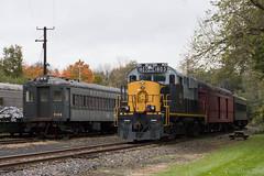 Faces of the West Chester Railroad (Dan A. Davis) Tags: westchesterrailroad westchester wcrl alco passengertrain train locomotive railroad pa pennsylvania rs18u