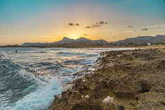 Calblanque (JM Alcaraz Photography) Tags: sunset atardecer canon 6d canon6d calblanque cartagena playa beach sea mar mediterraneo 24mm