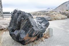 20140123_obsidian_mono_vistor_center_001 (petamini_pix) Tags: monolake california obsidian monolakevisitorcenter outdoor