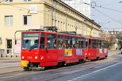 BTS_7953_201811 (Tram Photos) Tags: ckd tatra t6a5 bratislava dopravnýpodnikbratislava dpb strasenbahn tram tramway električková mhd električka