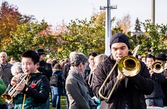20181111_0050_1 (Bruce McPherson) Tags: brucemcphersonphotography centumcorpora remembranceday armistice brassband 100piecebrassband livemusic bandmusic brassmusic remembrance armisticeday veteransday mountainviewcemetery jones45 areajones45 commonwealthcemetery remembering honouring wargraves outdoorperformance outdoormusic vancouver bc canada thelittlechamberseriesthatcould homegoingbrassband