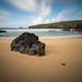Untouched (CreArtPhoto.ro) Tags: rock beach storm cloud water longexposure mountain shadows weather sand shore shoreline