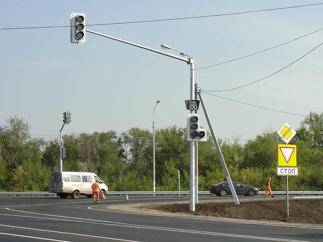 ОНФ предложил построить развязки на опасных перекрестках у Сызрани