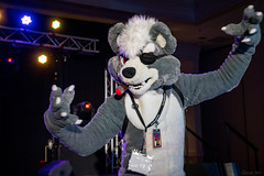 DSC09019 (Kory / Leo Nardo) Tags: pacanthro pawcon paw con pac anthro convention fur furry fursuit suiting mascot sona fursona san jose doubletree hotel california dance party deck animals costuming pupleo 2018