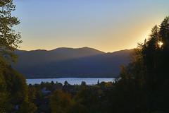 abendlicher Blick von der Schießstätte auf den Tegernsee HDR 1052 (rg-foto1) Tags: tegernsee schiesstätte bayern oberbayern abend sonnenuntergang wald