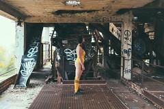 IMG_8653 (Cristian Photocuba) Tags: giallo tarantino rust retrò ruggine body corpo sexy sguardo sensual sensuale sensualità style decay dark donna desiderio delight bikini decadenza decadence femminilità femminile femme femmina feticista fetish cristianphotocuba color sexxxxy tits fotografia canon 5d mk3 canonista bellezza bella intrigante alternative abbandono abandoned art atmosfera arte abbandonato passione passion glamour glam girl gambe graffiti legs model modella murales muro yellow italy italiana italia ritratto portrait ritrattoitaliano alternativa snickers socks ass pass badass