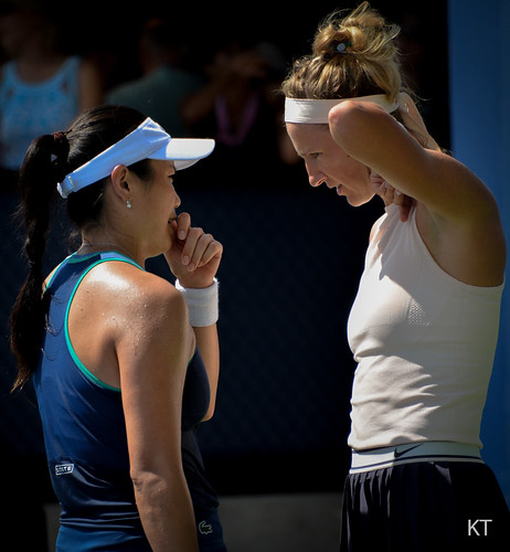 Victoria Azarenka - Latisha Chan & Victoria Azarenka