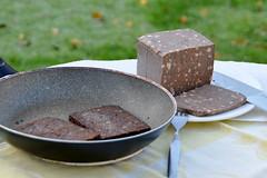 Balkenbrij, een echt streekgerecht uit oost-Nederland (Holsto) Tags: overijssel gelderland olst meat traditional food winter autumn netherlands regional dish pork herbs salland