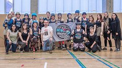 Prague City Roller Derby (Jan Hutter) Tags: belfast belfastrollerderby northernireland praguecityrollerderby wftda womensflattrackderbyassociation autumn contact czech czechrepublic girls indoor ladies november prague rollerderby rollerskates sport women