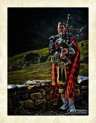 The Great Highland Bagpie [Explored 12.Dec.2018] (OATH Photography by Alison Richards) Tags: nationalism national bagpipes tartan scotland scottishhighlands kilt instruments mountains music oldstonewall wall texture painterly art creative postprocessing sporran sporranmusician scotlandunitedkingdom musician