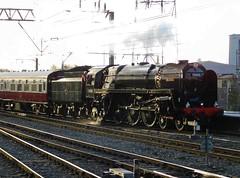 Rule Britannia! (The Walsall Spotter) Tags: steamlocomotive brstandardclass7 70000 britannia britishrailways crewerailwaystation burnleymanchesterroad