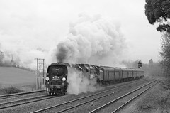 34067 'Tangmere' & 70013 'Oliver Cromwell' (Better Living Through Chemistry37 (Archive3)) Tags: 34067 tangmere 70013 1z27 greatbritainv aller