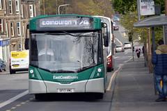 10055 (Callum's Buses and Stuff) Tags: lothianbuses edinburgh edinburghbus bus buses b8rle busesedinburgh green a199 tranent haddington dumbar 107 124 x24 eastcoastbuses grey