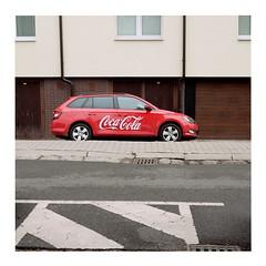 Coke (ngbrx) Tags: malacky slovakia slowakei slovensko cola car auto strase street asphalt building gebäude