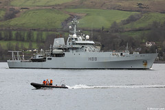 Royal Navy Echo-class ship HMS Enterprise, H188; Gare Loch, Firth of Clyde, Scotland (Michael Leek Photography) Tags: ship boat surveyvessel hmnbclyde hmnbdevonport plymouth devon clyde hmsneptune hmnb nato navalvessel natowarships faslane gareloch argyllandbute argyll rosneath warship britainsarmedforces britainsnavy appledore scotland scottishcoastline scottishlandscapes scottishshipping scotlandslandscapes workingboat workboat rhu rn royalnavy michaelleek michaelleekphotography