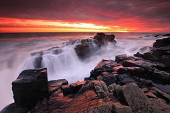 Once Upon A Tide (Stu Patterson) Tags: stu patterson sunrise seascape black hole northumberland